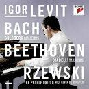 【輸入盤】バッハ:ゴルトベルク変奏曲、ベートーヴェン:ディアベリ変奏曲、ジェフスキー:『不屈の民』変奏曲 イ…