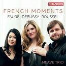 【輸入盤】『フレンチ・モーメンツ〜ピアノ三重奏曲集〜フォーレ、ドビュッシー、ルーセル』 ニーヴ・トリオ
