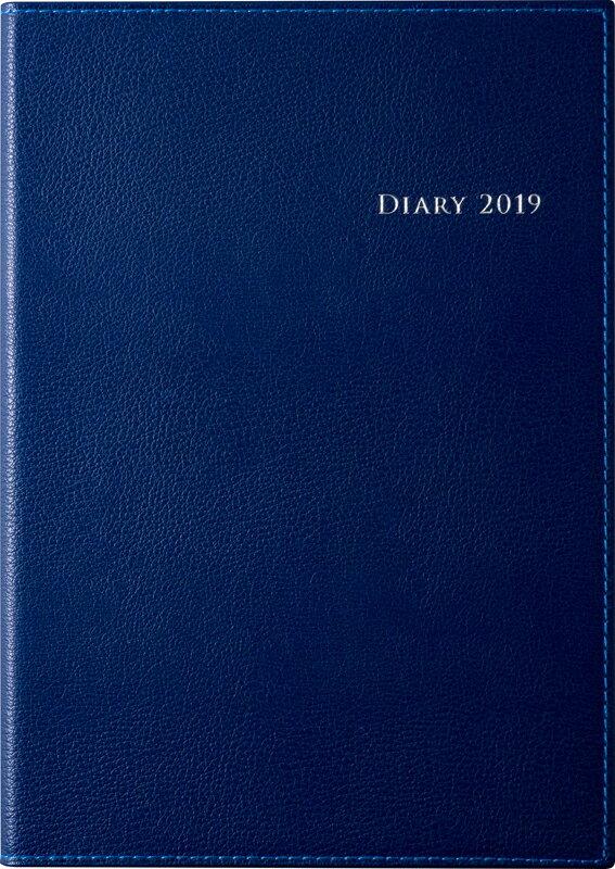 2019年度版 4月始まり No.963 デスクダイアリー カジュアル 3 ブルー