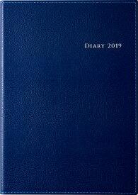 2019年度版 4月始まり No.963 デスクダイアリー カジュアル 3 ブルー 高橋手帳 2019年4月始まり A5判