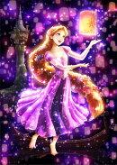 ディズニーステンドアートジグソーパズル 夜空に灯る夢(ラプンツェル) 【266ピース(18.2x25.7cm)】