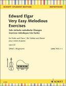 【輸入楽譜】エルガー, Edward: 第1ポジションで弾ける6つのやさしい小品 Op.22/Birtel & Bergmann編