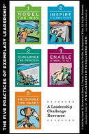 The Leadership Challenge Workshop Card, 4e: Side a - The Ten Commitments of Leadership; Side B - The