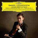 バッハ:ヴァイオリン協奏曲第1番・第2番 無伴奏ヴァイオリン・パルティータ第2番