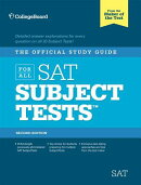 The Official Study Guide for All SAT Subject Tests, 2nd Ed [With 2 CDROMs]