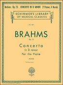 【輸入楽譜】ブラームス, Johannes: ピアノ協奏曲 第1番 ニ短調 Op.15