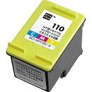 エコリカ ECI-HP110C-V HP CB304A 互換リサイクルインクカートリッジ 3色一体型