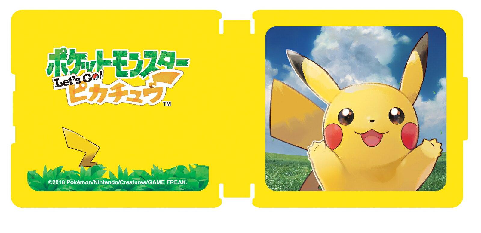 Nintendo Switch専用カードポケット24 ポケットモンスター Let's Go!ピカチュウ