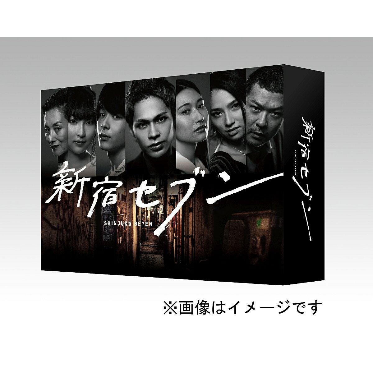 新宿セブン Blu-ray BOX(4枚組)【Blu-ray】 [ 上田竜也 ]