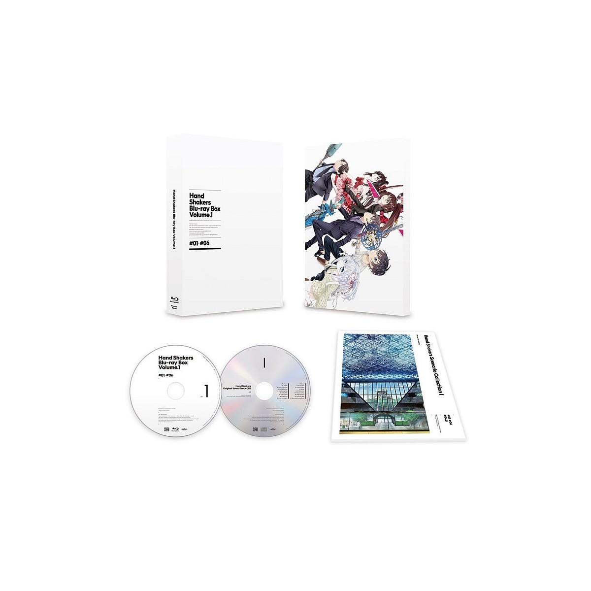 ハンドシェイカー Blu-ray BOX 上巻【Blu-ray】 [ 茅野愛衣 ]