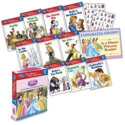 Disney Princess Reading Adventures Disney Princess Level 1 Boxed Set [With 86 Stickers and Parent Le