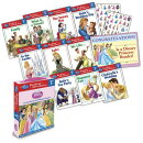 Disney Princess Reading Adventures Disney Princess Level 1 Boxed Set [With 86 Stickers and Parent Le
