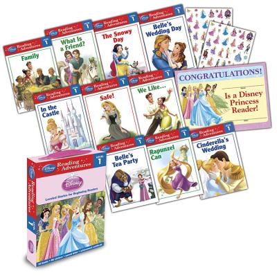 Disney Princess Reading Adventures Disney Princess Level 1 Boxed Set [With 86 Stickers and Parent Le BOXED-DISNEY PRINCESS DISNEY P (Disney Princess (Disney Press Unnumbered)) [ Disney Book Group ]