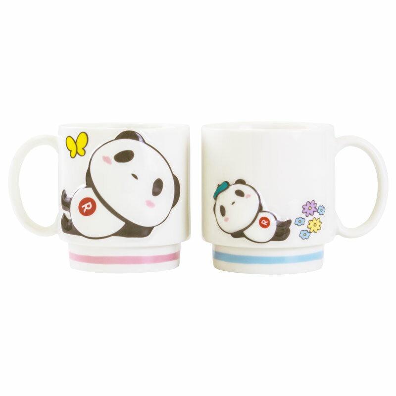 【ポイント交換限定】お買いものパンダなかよしペアマグカップ 〜ピクニックシリーズ〜
