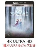 【楽天ブックス限定】アナと雪の女王2 4K UHD MovieNEX+オリジナルポストカード&ホルダーセット+コレクターズカ…