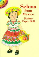 SELENA FROM MEXICO STICKER PAPER DOLL