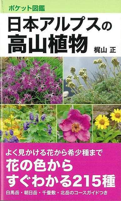 【バーゲン本】日本アルプスの高山植物 ポケット図鑑 [ 梶山 正 ]