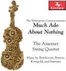 【輸入盤】Much Ado About Nothing-beethoven, Britten, Korngold, Summer: Amernet Sq