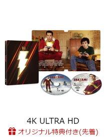 【楽天ブックス限定先着特典】シャザム! スチールブック仕様<4K ULTRA HD&ブルーレイセット>(2,000セット限定/2枚組)(数量限定生産)(コレクターズカード付き)【4K ULTRA HD】 [ ザッカリー・リーヴァイ ]