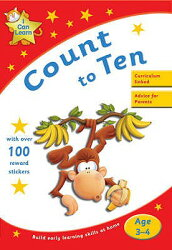 I CAN LEARN:COUNT TO TEN(P)【バーゲンブック】