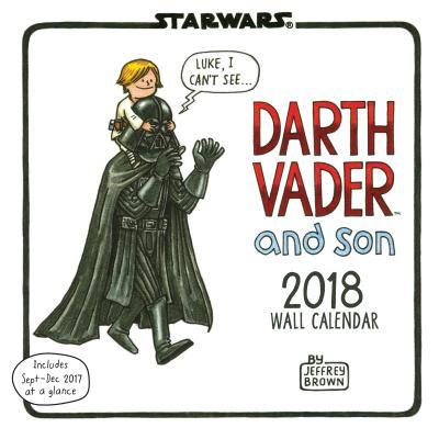 STAR WARS DARTH VADER AND SON 2018 WALL [ JEFFREY BROWN ]