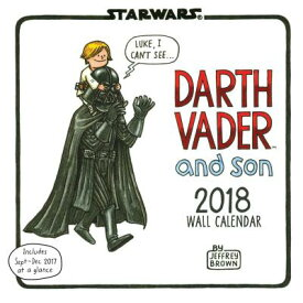 STAR WARS DARTH VADER AND SON 2018 WALL [ JEFFREY BROWN ]