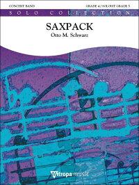 ブックス: 【輸入楽譜】シュワルツ, Otto M.: サックスパック: スコアとパート譜セット - シュワルツ, Otto M. - 2600001269970 : 本