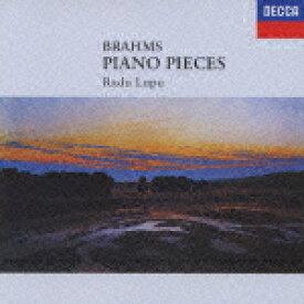 DECCA Best 100 79::ブラームス:ピアノ小品集 [ ラドゥ・ルプー ]