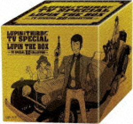 LUPIN THE THIRD ルパン三世 TV SPECIAL LUPIN THE BOX -TV SPECIAL BD COLLECTION-【Blu-ray】 [ 山田康雄 ]