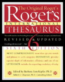 Roget's International Thesaurus, 6th Edition