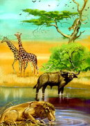 AFRICAN ANIMALS NOTEBOOK