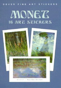 MONET:_16_ART_STICKERS