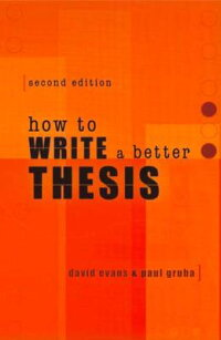 How_to_Write_a_Better_Thesis