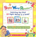 Sight Word Readers Parent Pack: Learning the First 50 Sight Words Is a Snap! [With Mini-Workbook] BOXED-SIGHT …