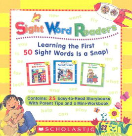 Sight Word Readers Parent Pack: Learning the First 50 Sight Words Is a Snap! [With Mini-Workbook] BOXED-SIGHT WORD READERS P 25V [ Scholastic Teaching Resources ]