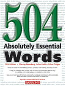 504 ABSOLUTELY ESSENTIAL WORDS 5/E(P)
