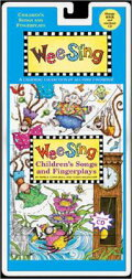 WEE SING CHILDREN'S SONGS&FINGER(P W/CD)