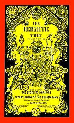 HERMETIC TAROT DECK,THE [ GODFREY DOWSON ]