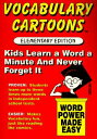 Vocabulary Cartoons: Word Power Made Easy VOCABULARY CARTOONS [ Sam Burchers ]