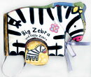 BIG ZEBRA & LITTLE ZEBRA (CLOTH BOOK)