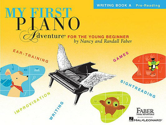 My First Piano Adventure: Writing Book a MY 1ST PIANO ADV [ Nancy Faber ]