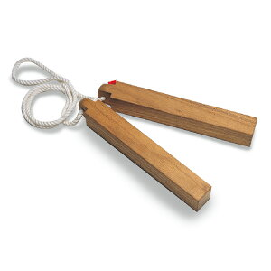 (8589-7310)紙芝居ひょうしぎ 入数:1個 拍子木 紙芝居用 かみしばい 木製ひょうしぎ