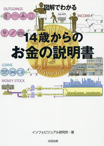 図解でわかる14歳からのお金の説明書/インフォビジュアル研究所【1000円以上送料無料】