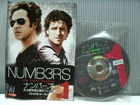 【中古】NUMB3RS ナンバーズ 天才数学者の事件ファイル ファイナルシーズン 全8巻完結 レンタルアップ商品