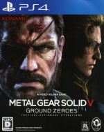 【中古】 METAL GEAR SOLID5:GROUND ZEROES /PS4 【中古】afb