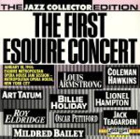 【中古】 【輸入盤】First Esquire Concert /ルイ・アームストロング,ArtTatum(アーティスト) 【中古】afb