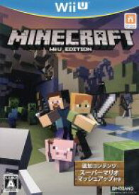【中古】 Minecraft:Wii U EDITION /WiiU 【中古】afb