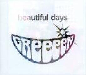 【中古】 beautiful days(初回限定盤)(DVD付) /GReeeeN 【中古】afb