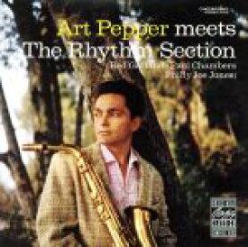 【中古】 【輸入盤】ART PEPPER MEETS THE RHYTHM SECTION /アート・ペッパー(as) 【中古】afb