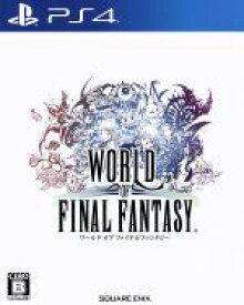 【中古】 ワールド オブ ファイナルファンタジー /PS4 【中古】afb